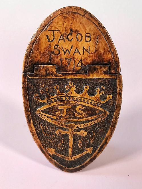 A Rare Snuff Box Dated 1714