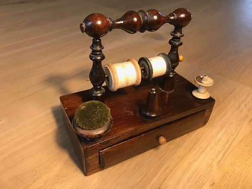 Antique Rosewood Sewing Companion