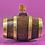 Thumbnail: Antique Treen Mini Costrel