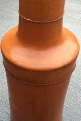 A Large Antique boxwood Bottle Case