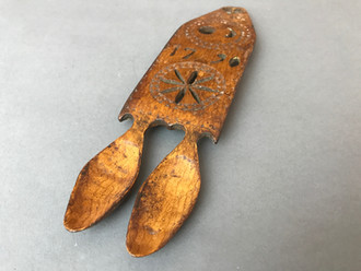 True meaning behind Antique Welsh Love Spoons