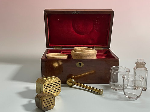Antique Cupping Set by S Maw of London