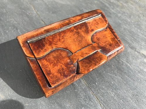 Antique Snuff Box - Satchel/Purse