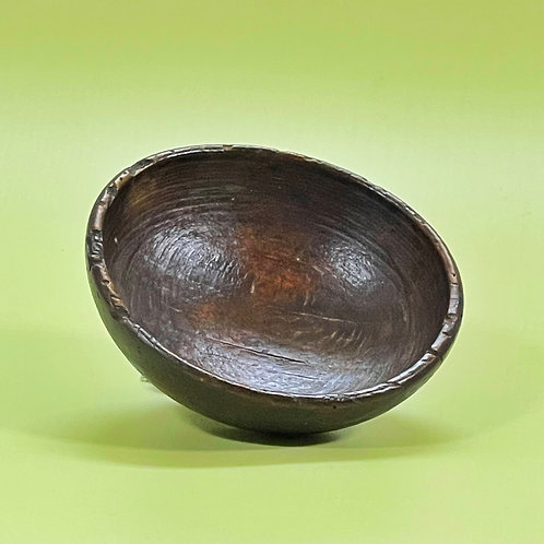 An Antique Treen Bowl