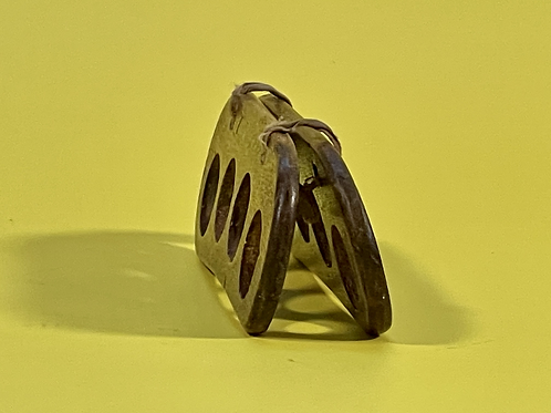 Unusual Antique Treen Children's Finger Stocks