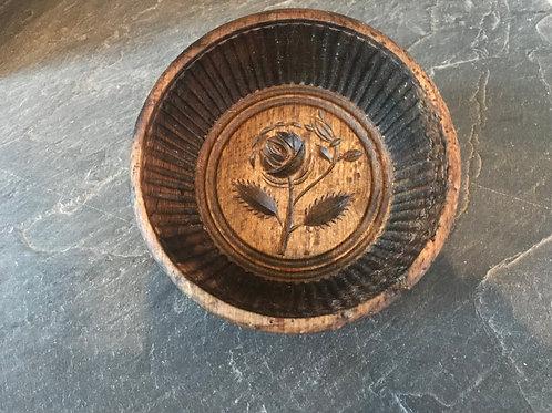 Antique Treen English Flummery Mould