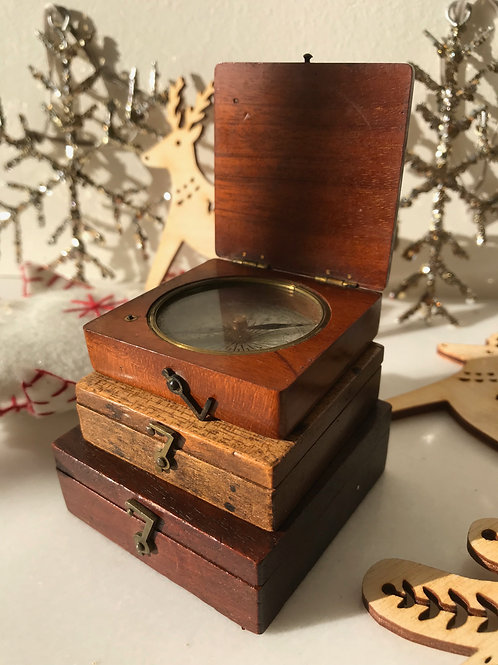 Antique Explorer's Compass - Maker's name Newton & Co