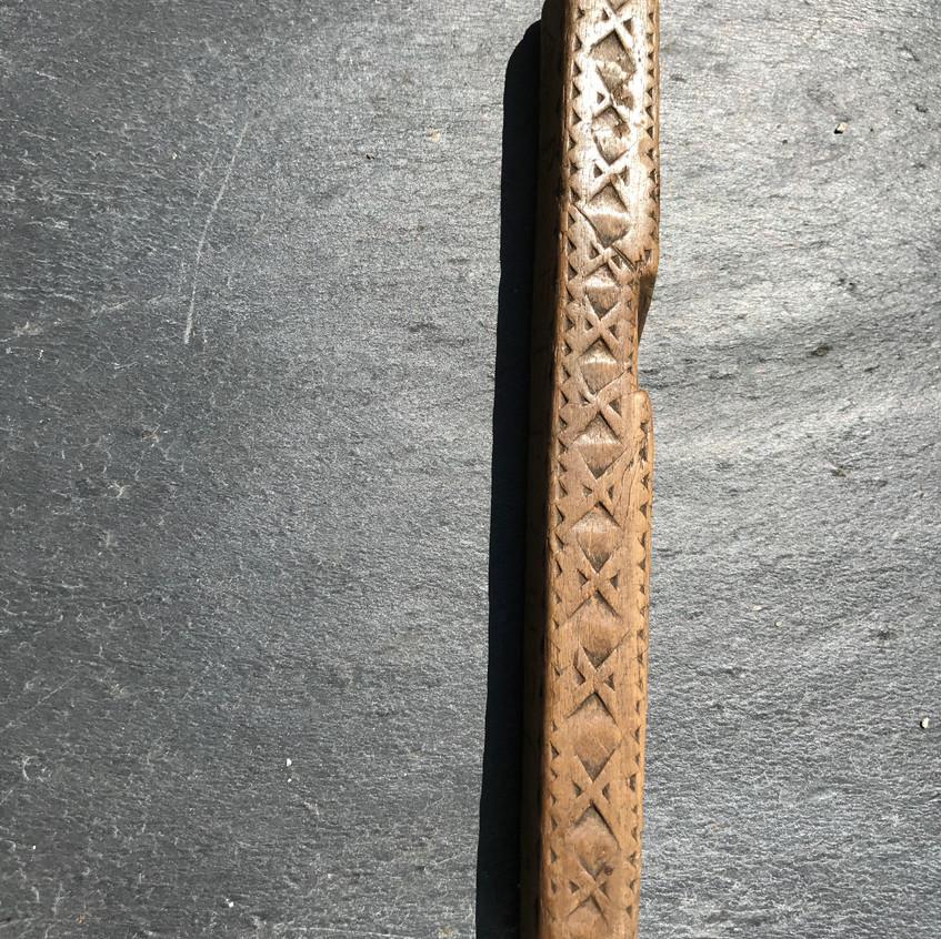 Antique Treen Knitting Sheath 3