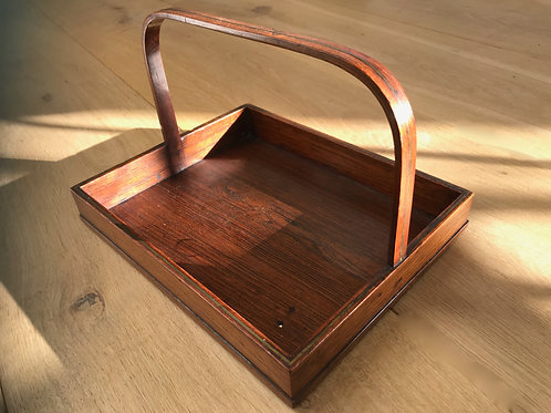 Antique Rosewood Small Stationery/Visiting Card Tray
