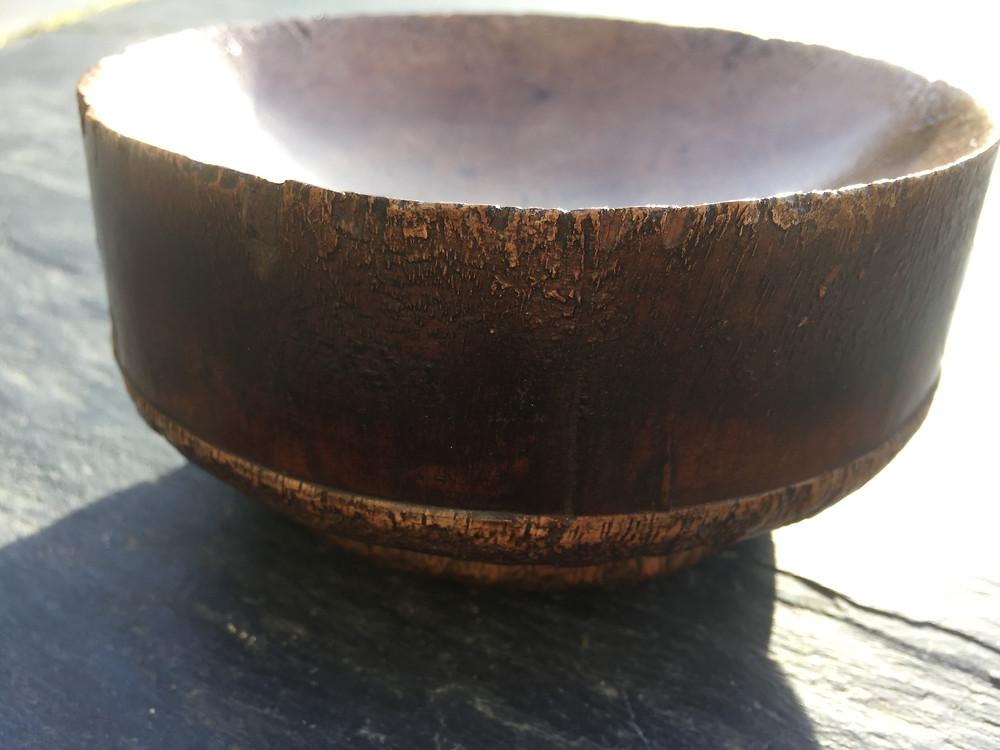 Sawn Log Bowl