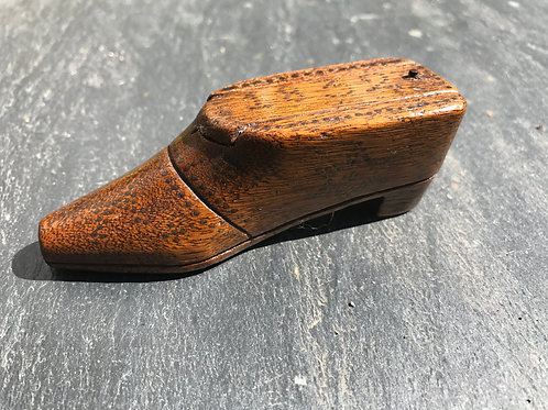 Antique Snuff Shoe - dated 1832