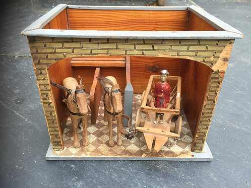 Antique German Stable