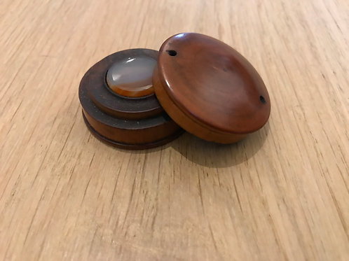 Antique Treen Box - Watch makers