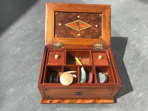 Antique Miniature Sewing Box