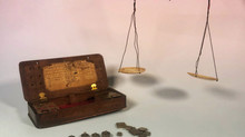 Georgian Apothecary Weighing Scales