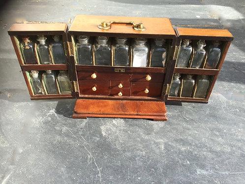 An 18th century apothecary case