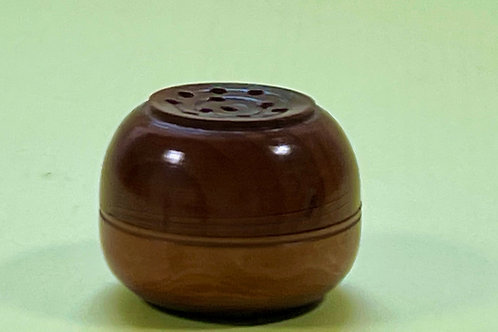 Antique Yew Wood Pepperette