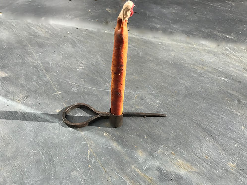 A 19th century Candle Spike