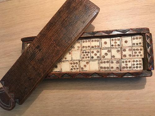 Antique Prisoner of War Dominoes