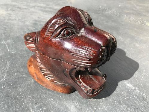 Antique Snuff Box - Tiger