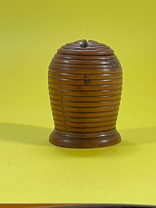 Antique Bee Hive Money Box