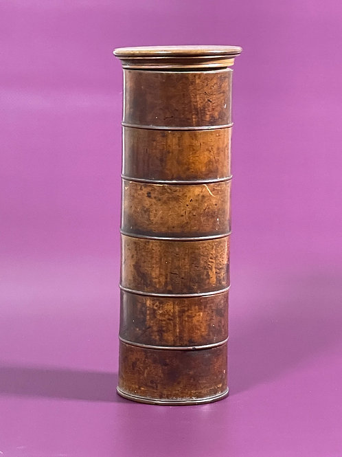 Antique Six Tier Spice Tower - unusual size
