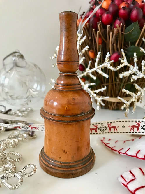 Antique Treen Glove Powderer