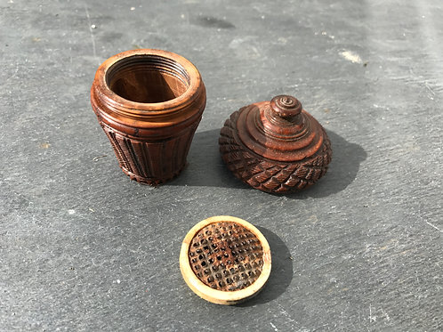 Antique Coquilla Nutmeg Grater