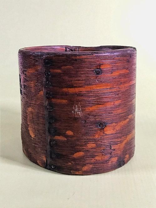 Antique Oak Quart Measure- with Provenance