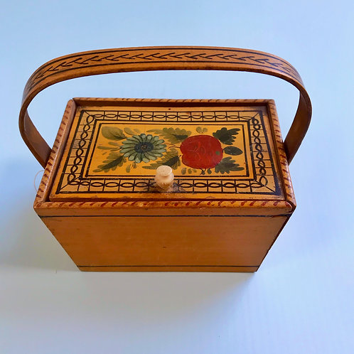 A Small Georgian Sewing Box