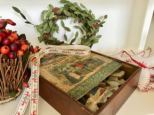 Antique Dissected Puzzle - Jigsaw