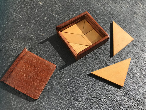 Antique Puzzle - Tangram