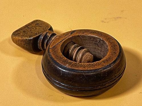 Antique Treen Pocket Nutcracker