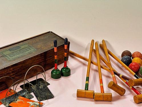 A Mini Croquet Set