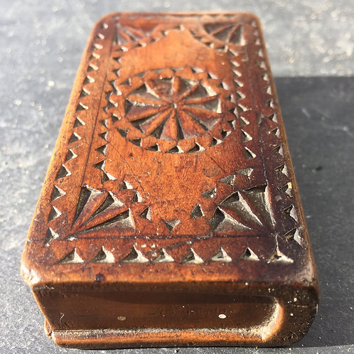 An Antique  Snuff Book Box