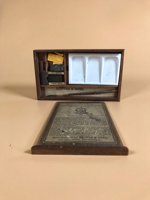 Antique Artist Paint Box - for architectural buildings