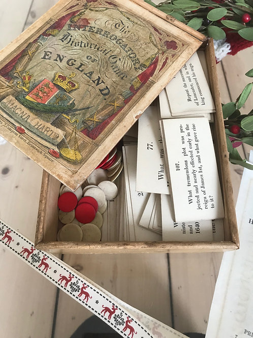An Unusual Antique History Game