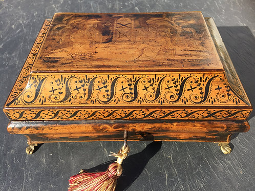 Antique Pen Work Box