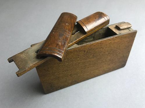 Antique Puzzle Book - Money Box