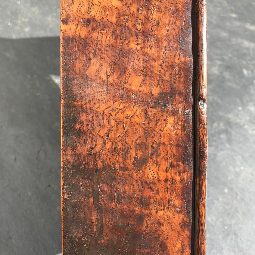 Antique treen oak tinder box for sale, opus antiques uk5