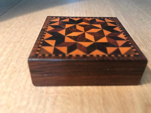 Antique Tunbridge Ware Tangram Puzzle
