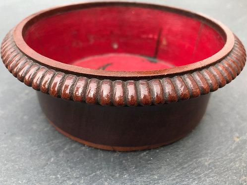 Antique Mahogany Coaster