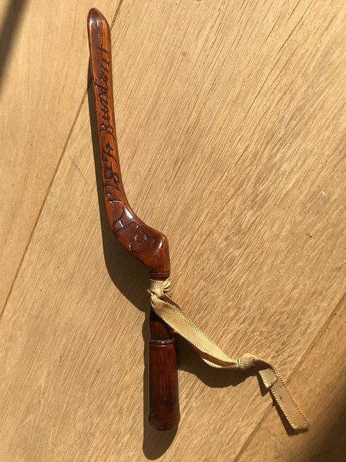 Antique Treen Knitting Sheath