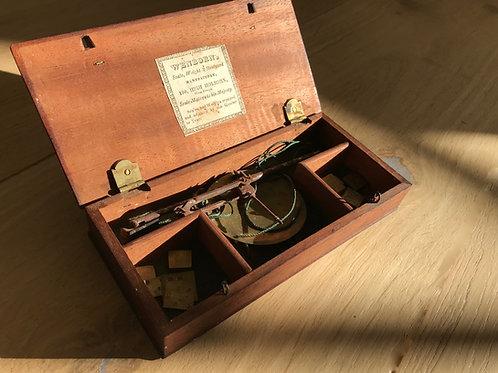 Antique Jewellers Scales