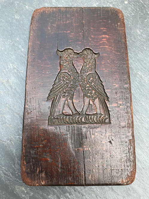 Antique English Gingerbread Mould