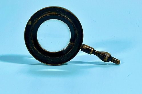 An Antique Treen  Magnifying Glass