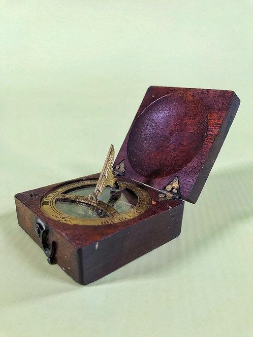 Antique Sun Dial & Compass - C1750