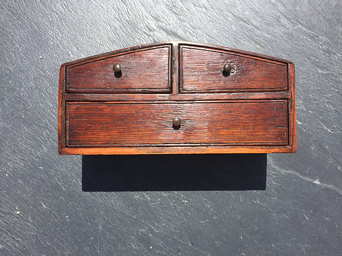 An Apprentice Antique Oak Chest of Drawers