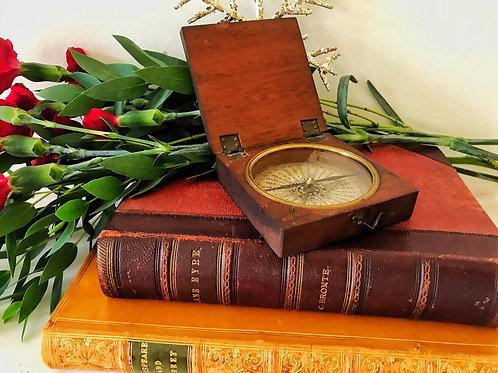 Antique Compass - Explorer's