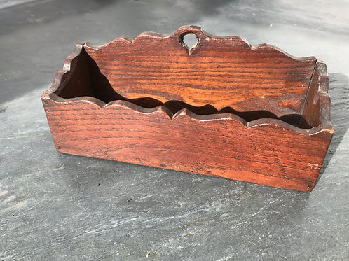 Antique Spill/Candle box